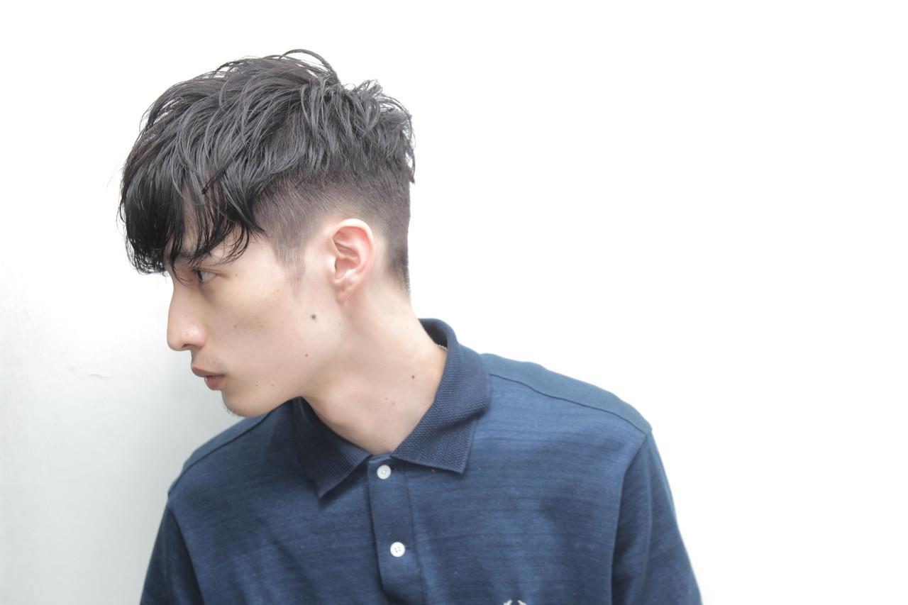 黒髪 スポーツ ショート メンズ ヘアスタイルや髪型の写真・画像   ハセガワ フミヤ / k.e.y