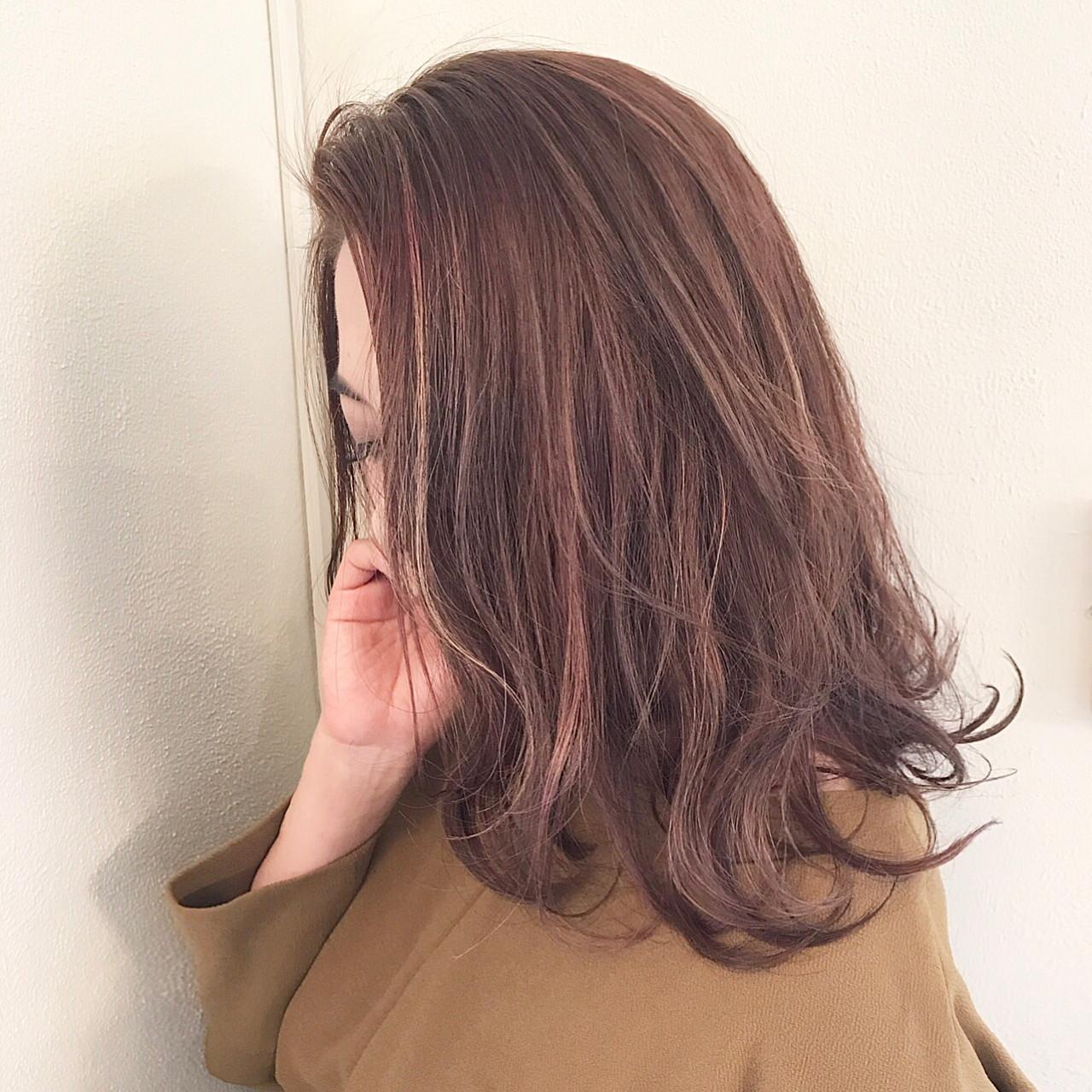 ミルクティー 上品 ニュアンス アッシュ ヘアスタイルや髪型の写真・画像
