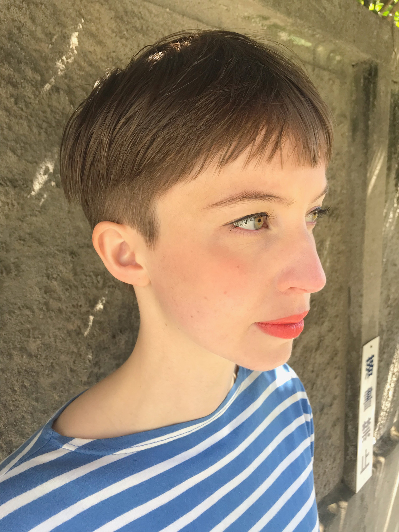 モード ショート 刈り上げ女子 大人かわいい ヘアスタイルや髪型の写真・画像