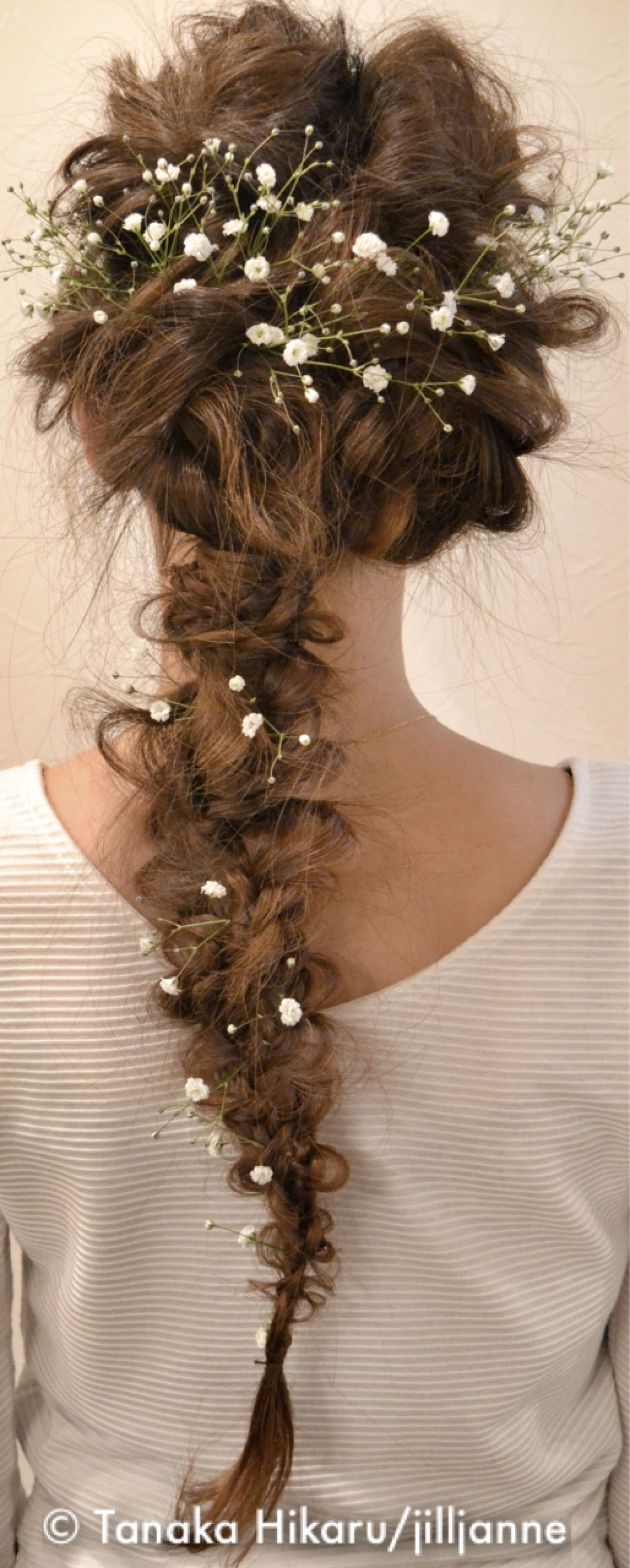 ロング 結婚式 ヘアアレンジ アップスタイル ヘアスタイルや髪型の写真・画像