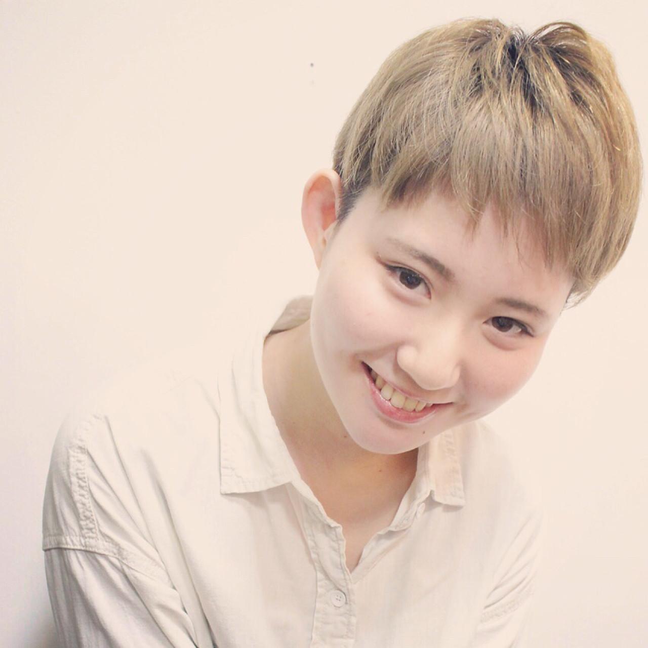 ゆるふわ ストリート 外国人風 ショート ヘアスタイルや髪型の写真・画像 | 徳田勝義 / ku-to南浦和