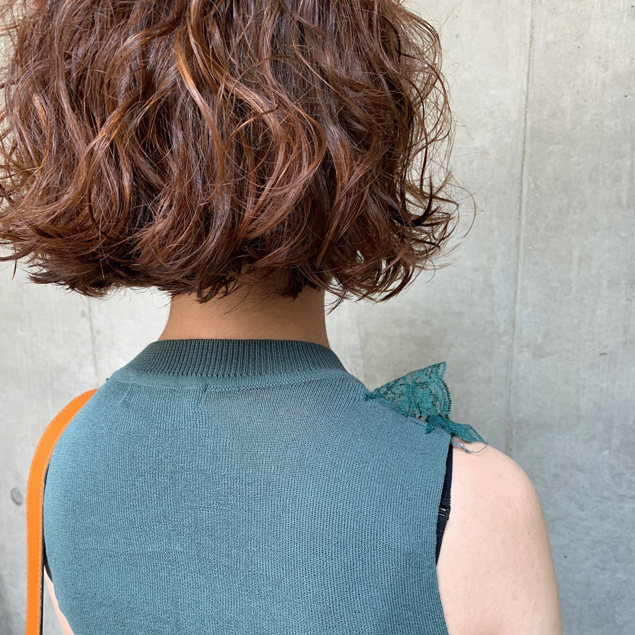 ボブ ヘアアレンジ デート パーマ ヘアスタイルや髪型の写真・画像 | bibito crew / bibito