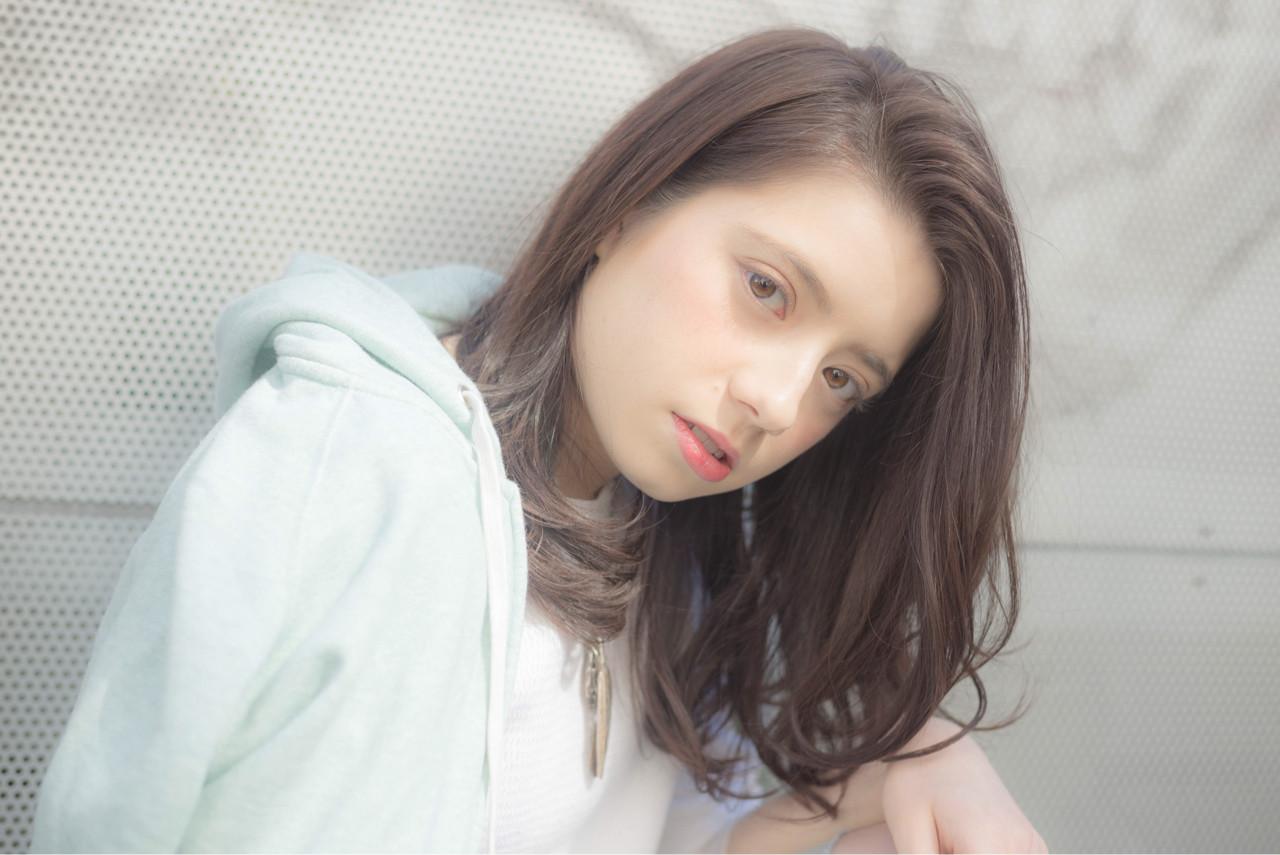 外国人風 大人かわいい ストリート アッシュ ヘアスタイルや髪型の写真・画像 | 淀川 純 / hair salon abiquiu