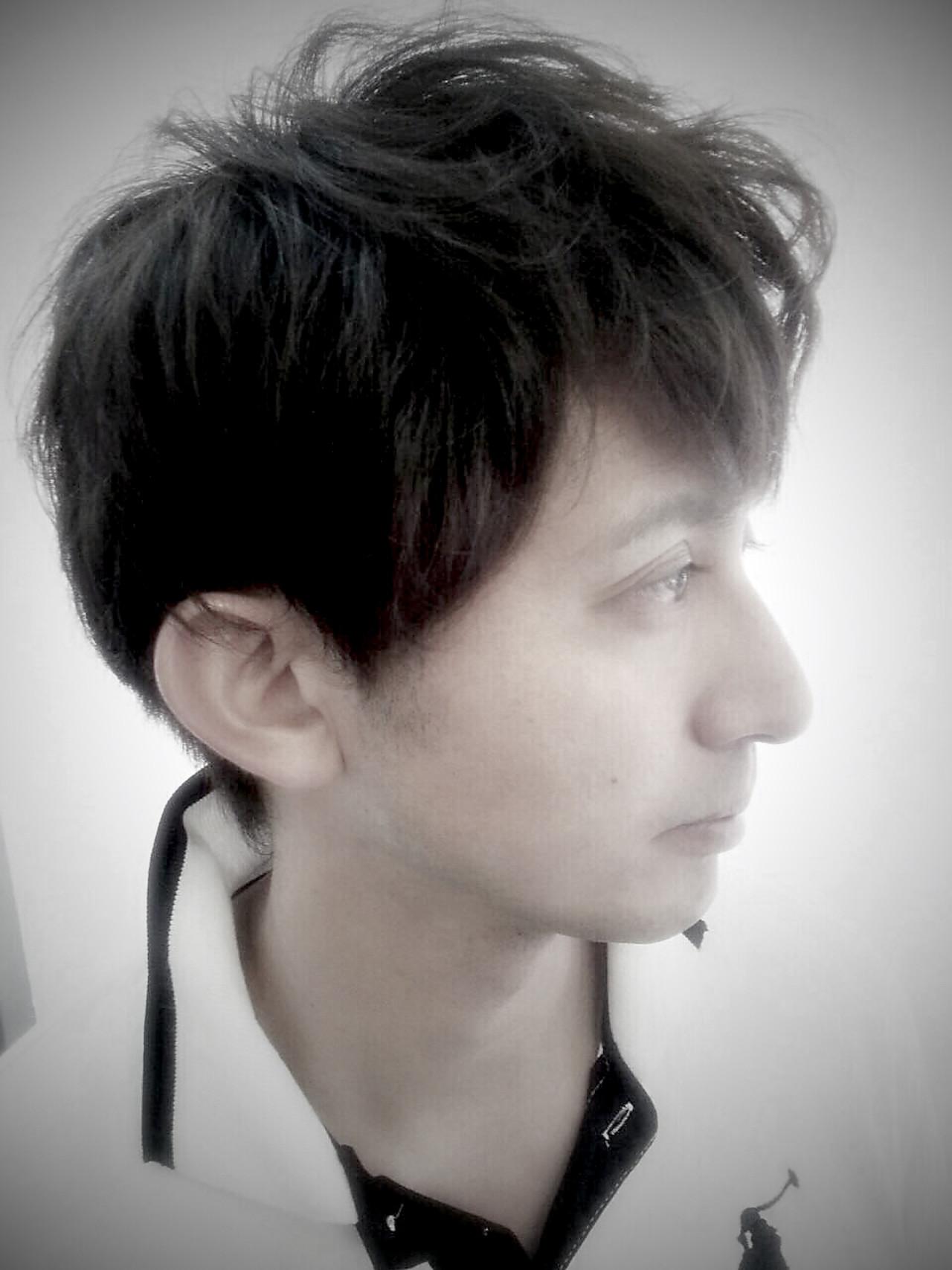 坊主 黒髪 ナチュラル ボーイッシュ ヘアスタイルや髪型の写真・画像
