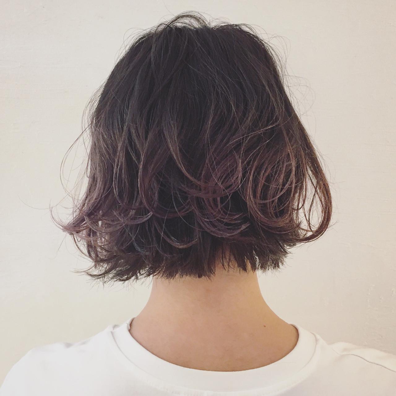 グラデーションカラー ハイライト 外国人風 モード ヘアスタイルや髪型の写真・画像