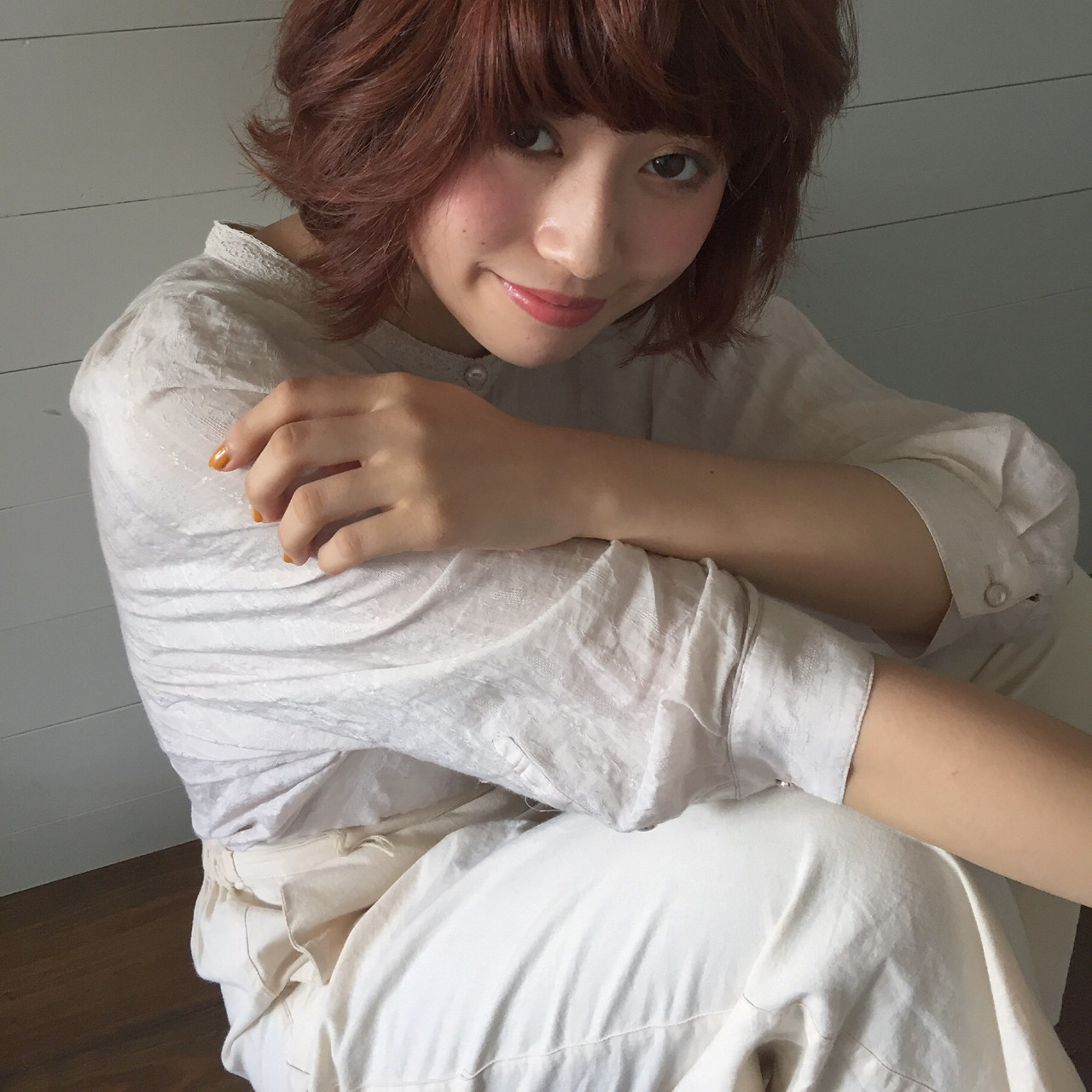 色気 パーマ ボブ 外国人風 ヘアスタイルや髪型の写真・画像