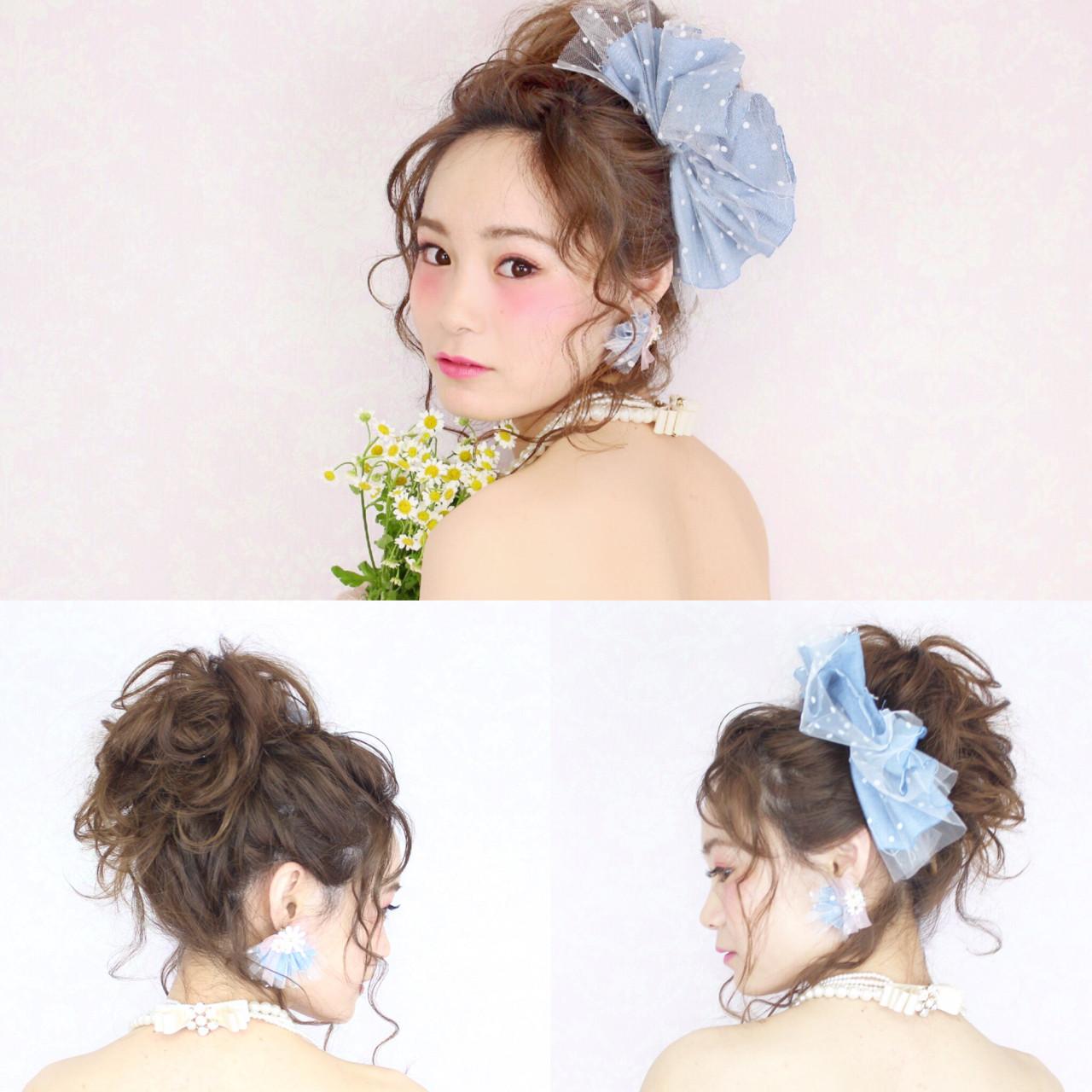 ショート フェミニン ブライダル 花嫁 ヘアスタイルや髪型の写真・画像