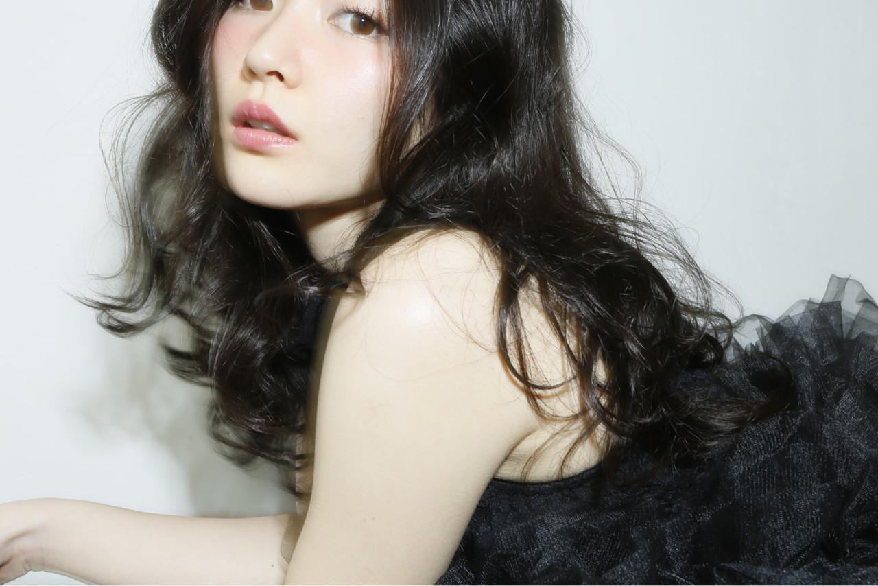 フェミニン ゆるふわ 大人かわいい ナチュラル ヘアスタイルや髪型の写真・画像