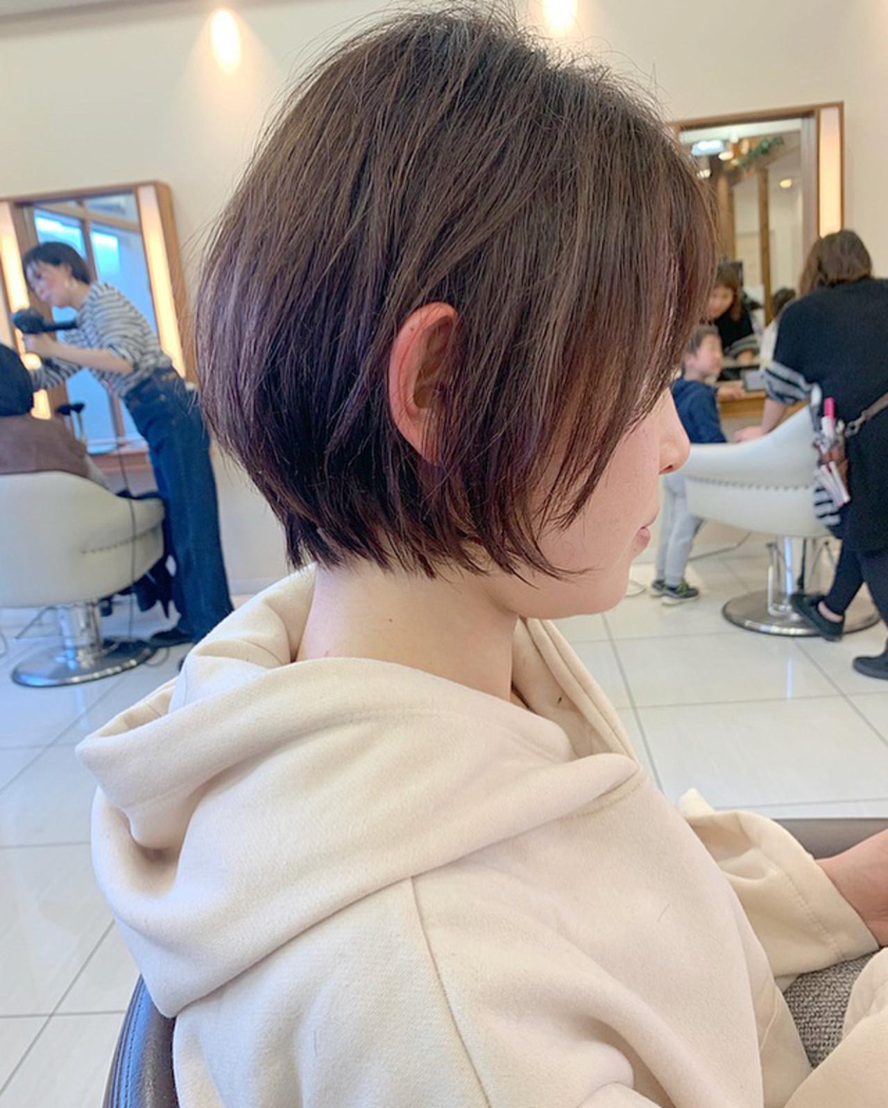 ふんわりショート 大人ショート ショートヘア  ヘアスタイルや髪型の写真・画像 | 【つくば美容師】ショートヘア愛好家/矢崎 翔太 / ジールサロン