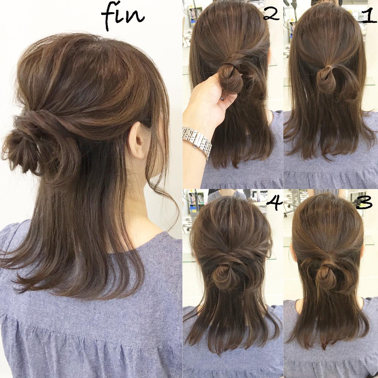 デート ヘアアレンジ 結婚式 リラックス ヘアスタイルや髪型の写真・画像 | 新谷 朋宏 / Free hairstylist shinya