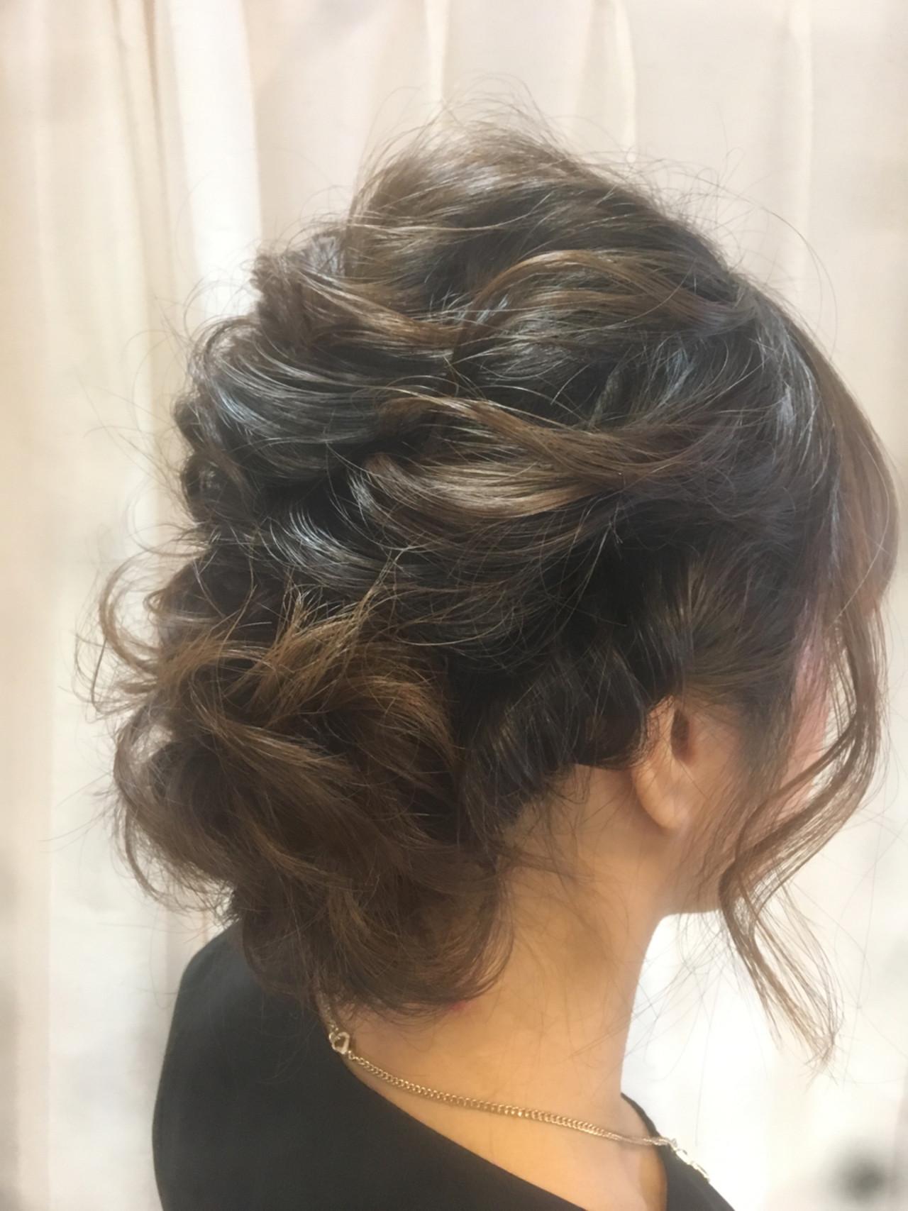 フェミニン デート ゆるふわ 後れ毛 ヘアスタイルや髪型の写真・画像