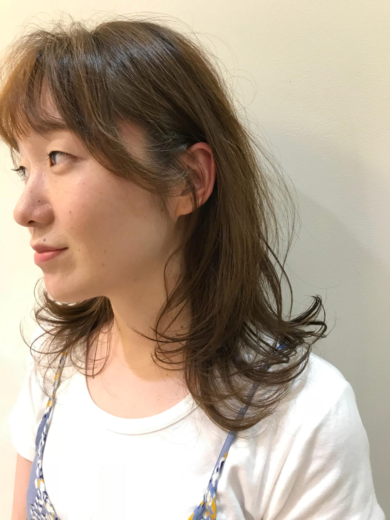涼しげ 外国人風 大人かわいい ハイライト ヘアスタイルや髪型の写真・画像   飯島 直彬 / SEES HAIR