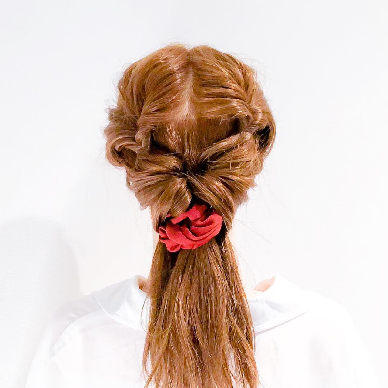 ヘアアレンジ フェミニン ショート 簡単ヘアアレンジ ヘアスタイルや髪型の写真・画像