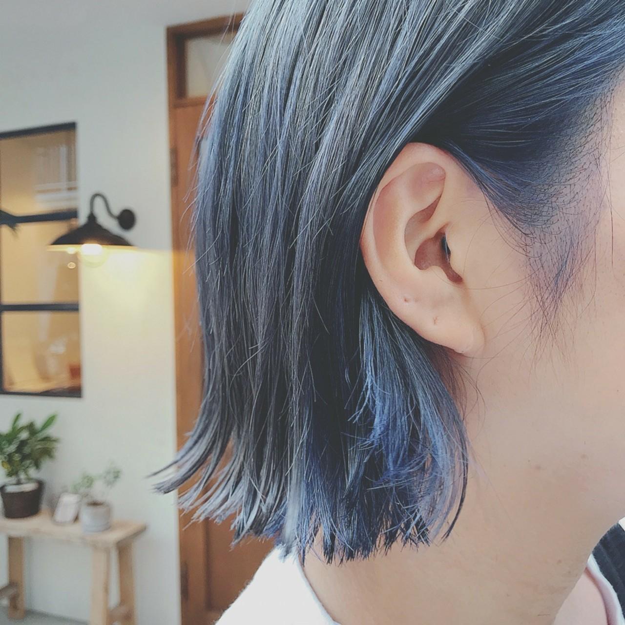 デート 色気 ショート ゆるふわ ヘアスタイルや髪型の写真・画像 | 浦川由起江 / nanon