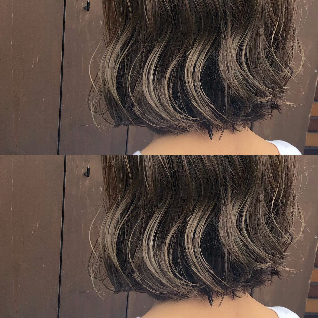ミルクティーベージュ ナチュラル 地毛風カラー ボブ ヘアスタイルや髪型の写真・画像 | 山下純一 / JESSICA