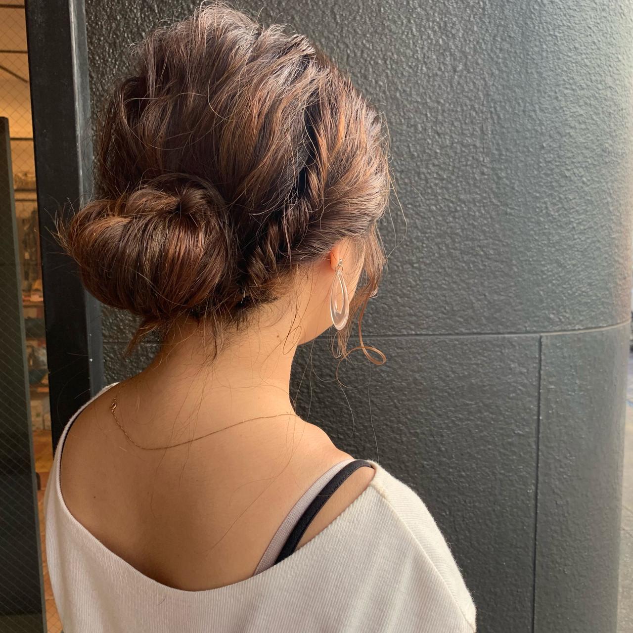 ヘアアレンジ 結婚式 デート 簡単ヘアアレンジ ヘアスタイルや髪型の写真・画像 | 松田 和幸 / tuuli
