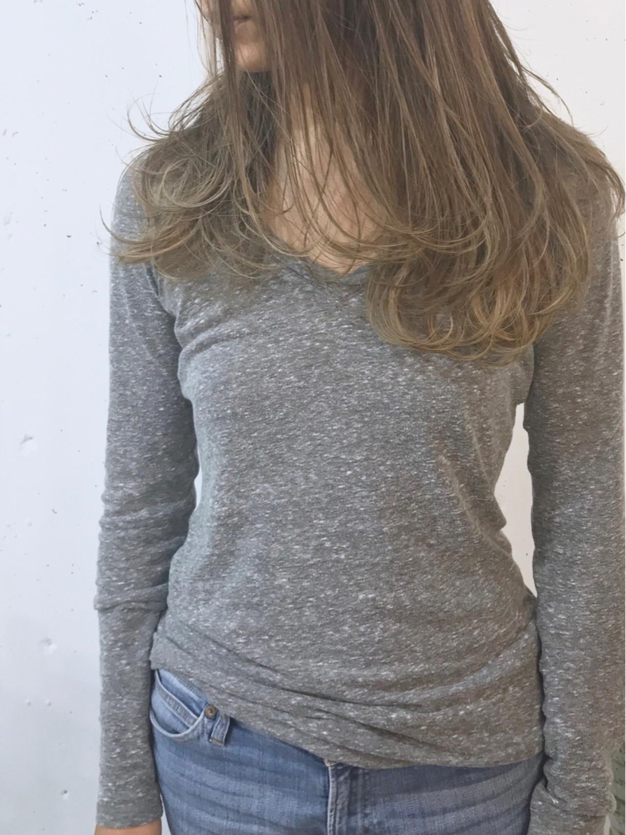 大人かわいい ロング デート 外国人風カラー ヘアスタイルや髪型の写真・画像 | sowi 阿部 辰也 / sowi hair design ソーイ