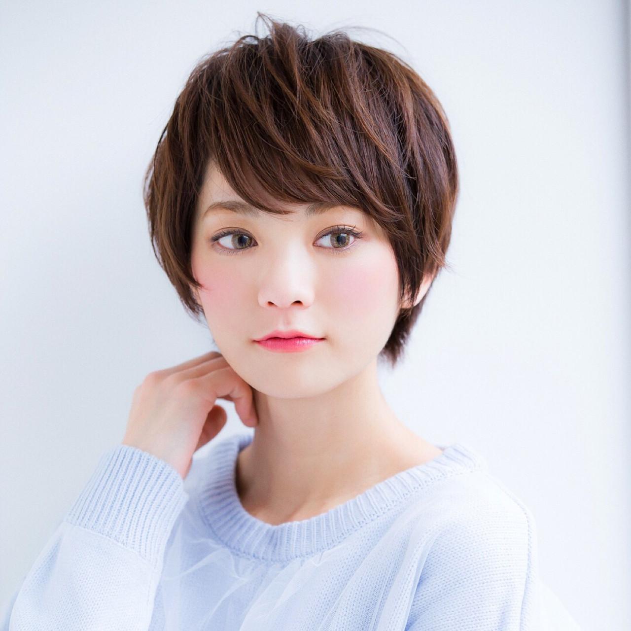 大人かわいい 色気 ショート ボブ ヘアスタイルや髪型の写真・画像 | 【ボブのスペシャリスト】東 純平 / Gallica mimami aoyama