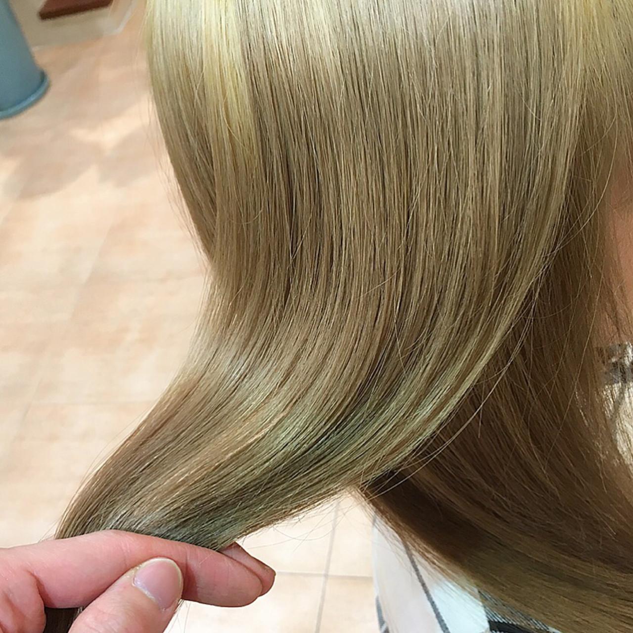 ブリーチ ダブルカラー トリートメント モード ヘアスタイルや髪型の写真・画像 | 平本 詠一 / fabris