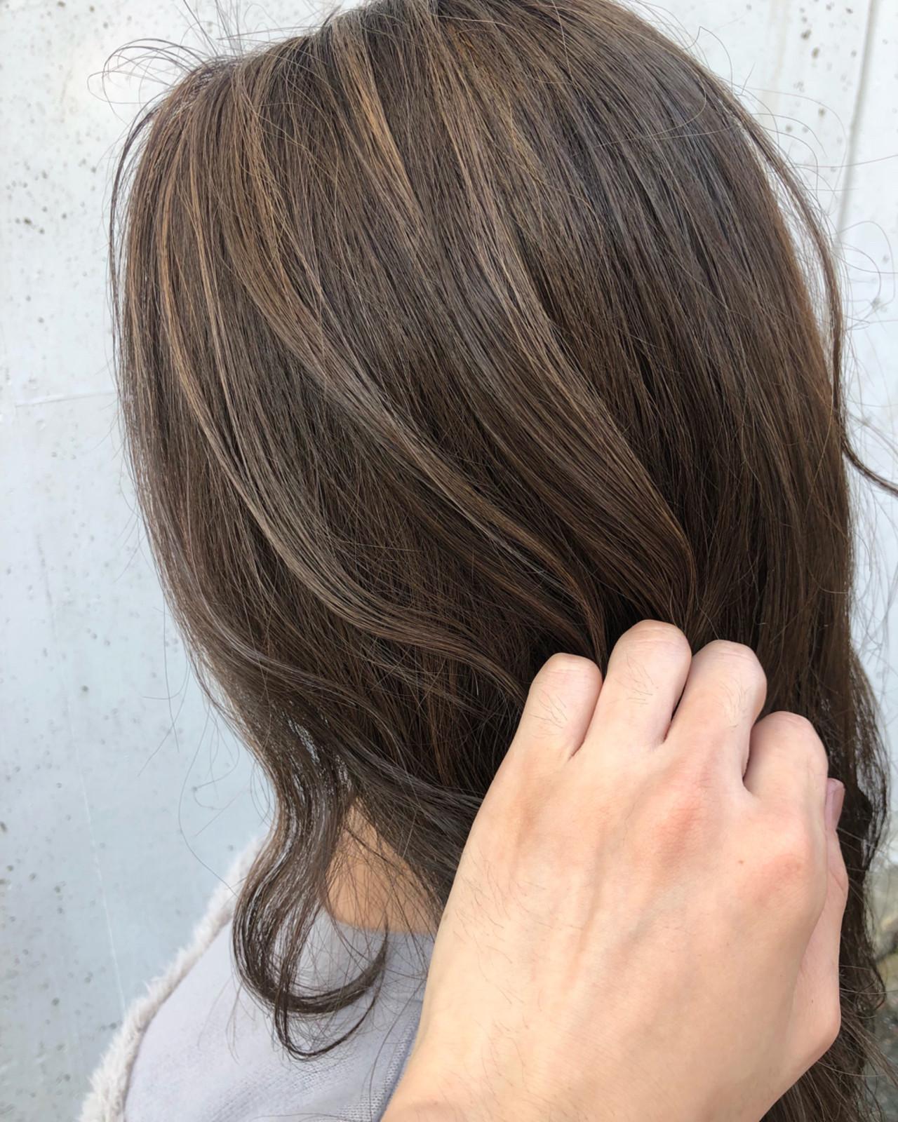 透明感 ロング ナチュラル 外国人風 ヘアスタイルや髪型の写真・画像