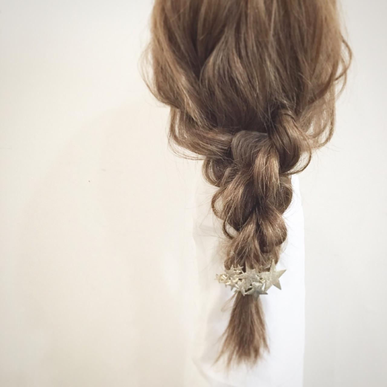 大人かわいい ヘアアレンジ ショート セミロング ヘアスタイルや髪型の写真・画像 | 平岡 歩 / Wooluuw