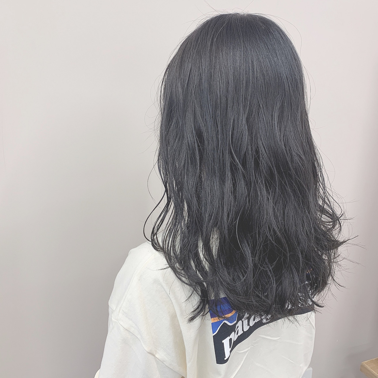 ブルーブラック アッシュグレー 透明感カラー ダークグレー Garland