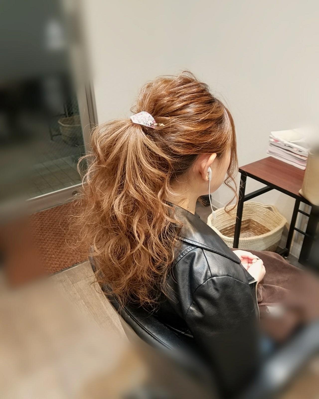 ヘアアレンジ アップスタイル フェミニン ロング ヘアスタイルや髪型の写真・画像
