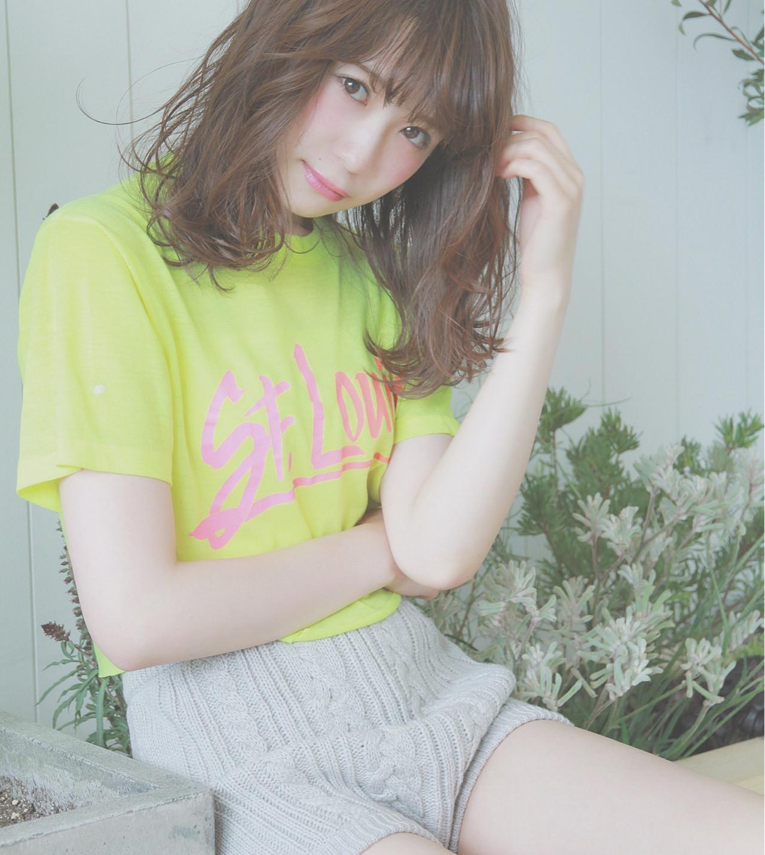 大人かわいい アンニュイ ナチュラル 透明感 ヘアスタイルや髪型の写真・画像