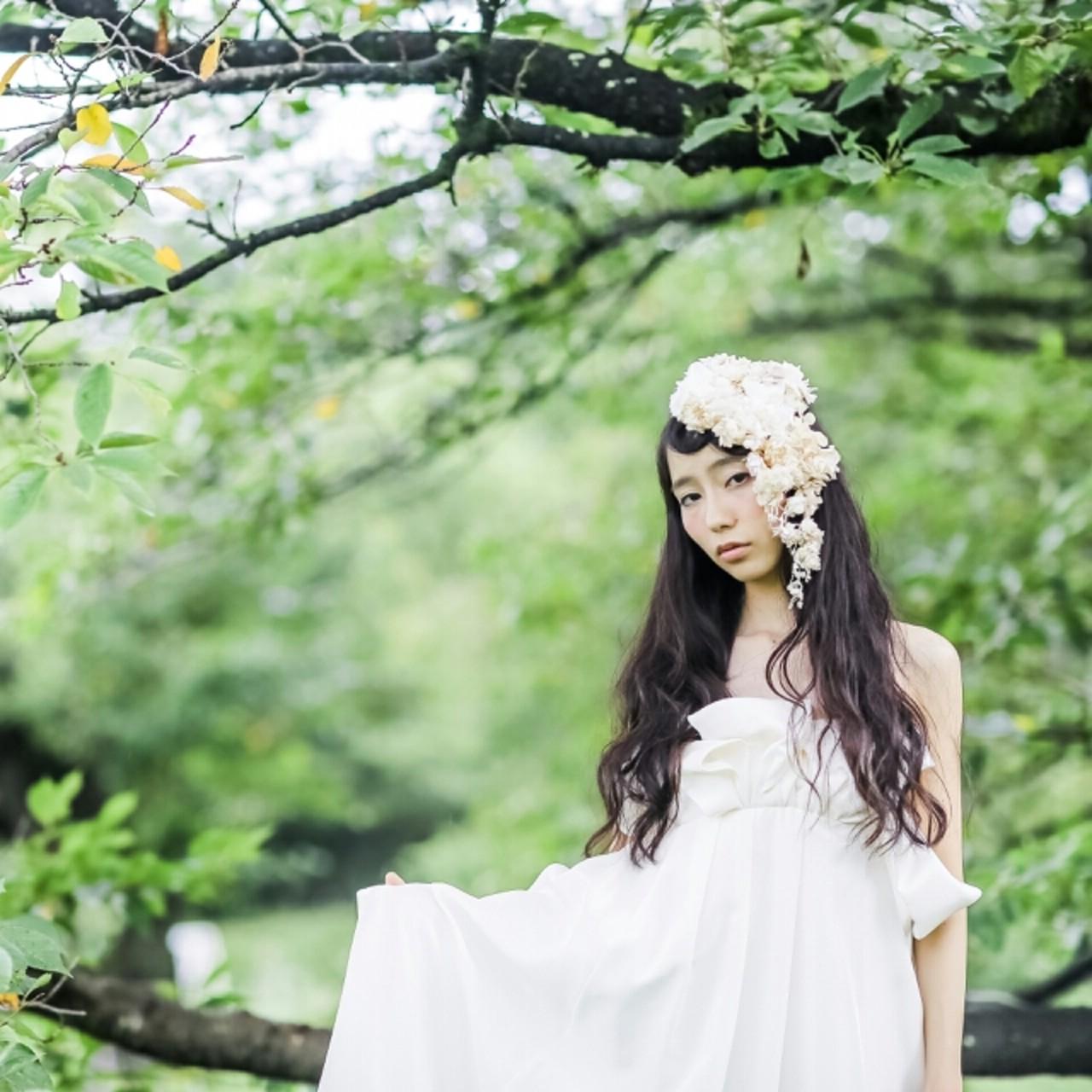 ロング 黒髪 フェミニン 外国人風 ヘアスタイルや髪型の写真・画像