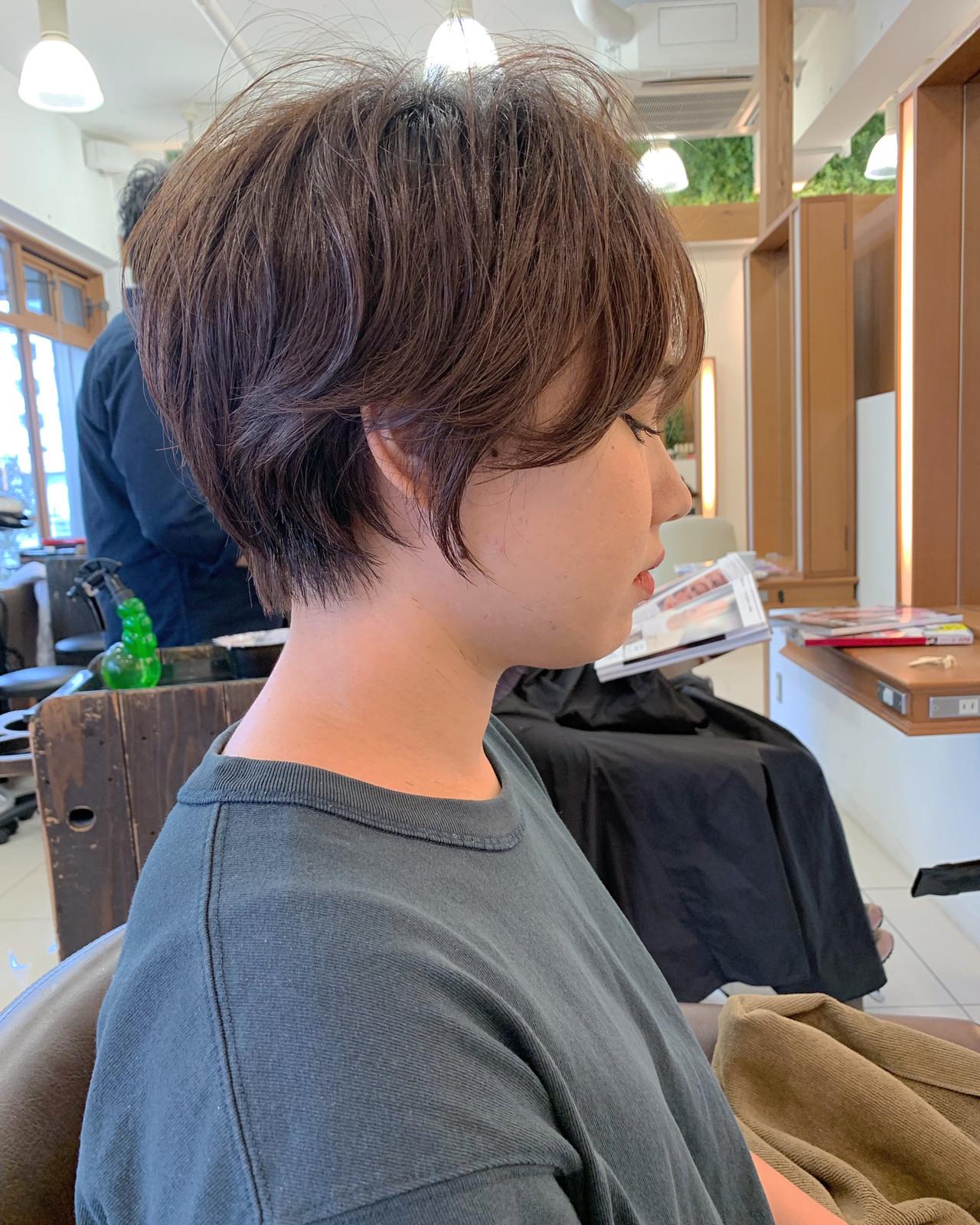 ふんわり  可愛い 大人可愛い ヘアスタイルや髪型の写真・画像 | 【つくば美容師】ショートヘア愛好家/矢崎 翔太 / ジールサロン