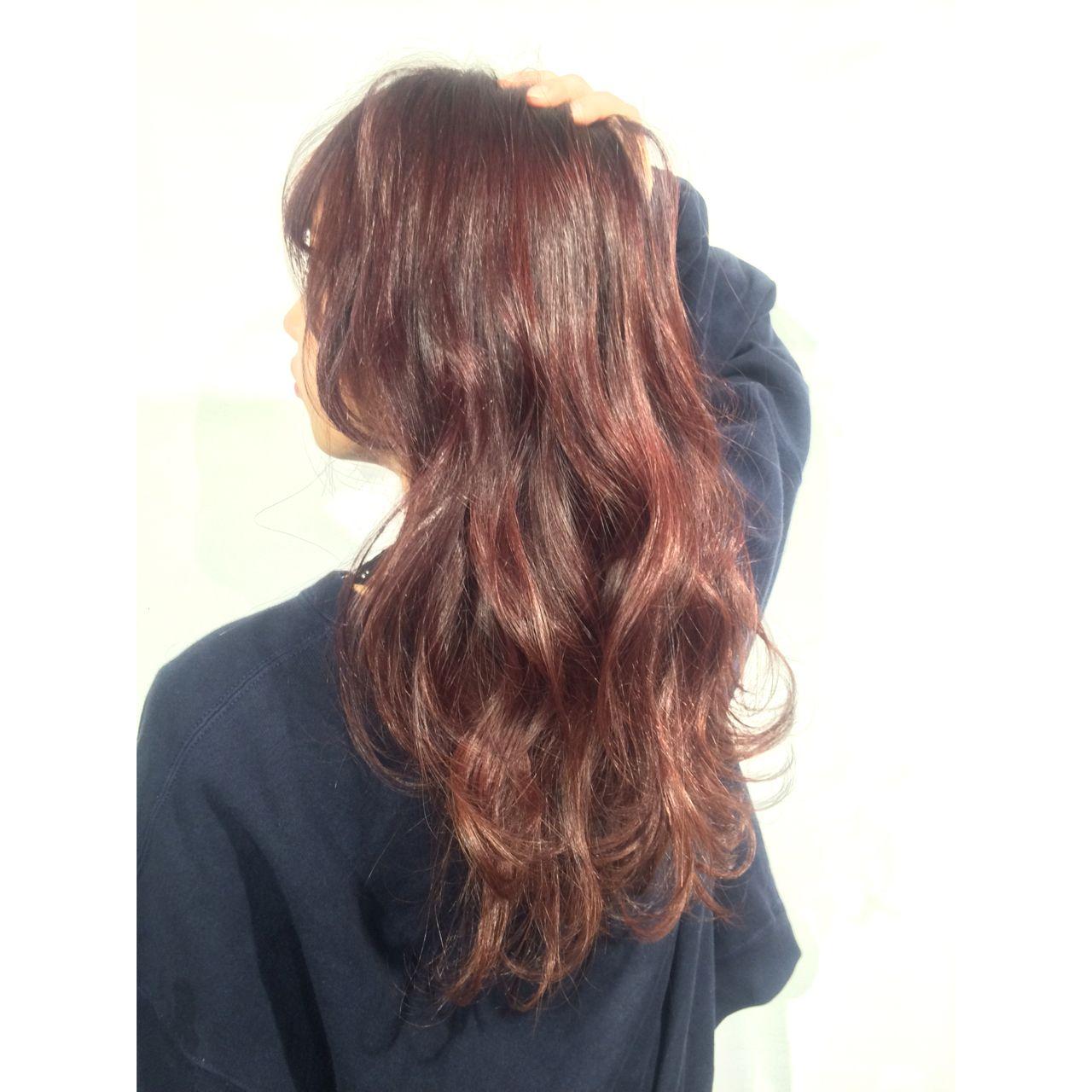ロング ストリート ヘアスタイルや髪型の写真・画像 | KE-TO / TLONY