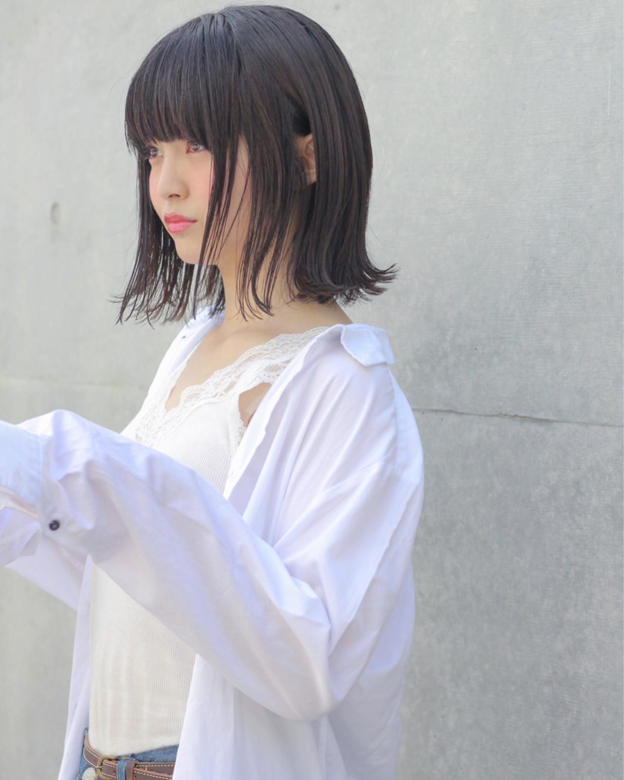 髪型に迷ったら、こなれ黒髪に挑戦!厳選10スタイルをご紹介♡ Wataru Maeda  cache cache