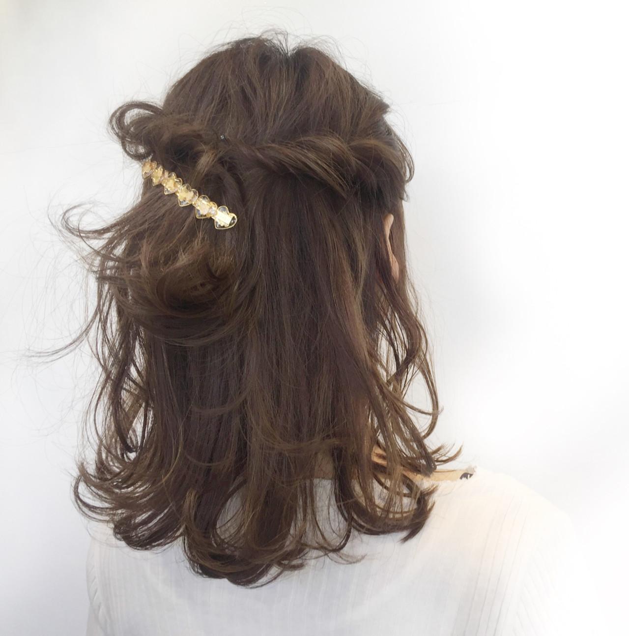 前髪あり フリンジバング ナチュラル デート ヘアスタイルや髪型の写真・画像 | 薬袋 光 / KIKKAKE@depth
