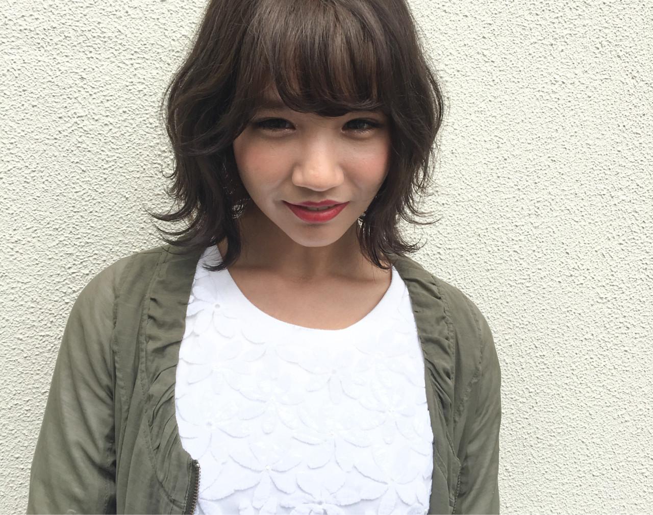 外国人風 ウェーブ ゆるふわ ストリート ヘアスタイルや髪型の写真・画像 | 平松 伸悟 / Lycka上飯田店