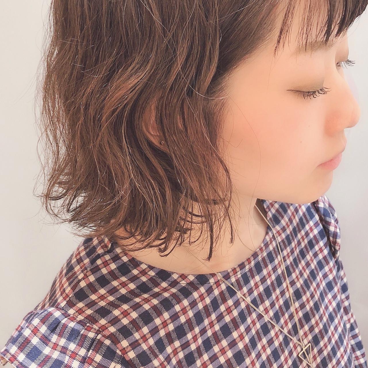 ナチュラル 大人可愛い モテ髪 ゆるナチュラル ヘアスタイルや髪型の写真・画像