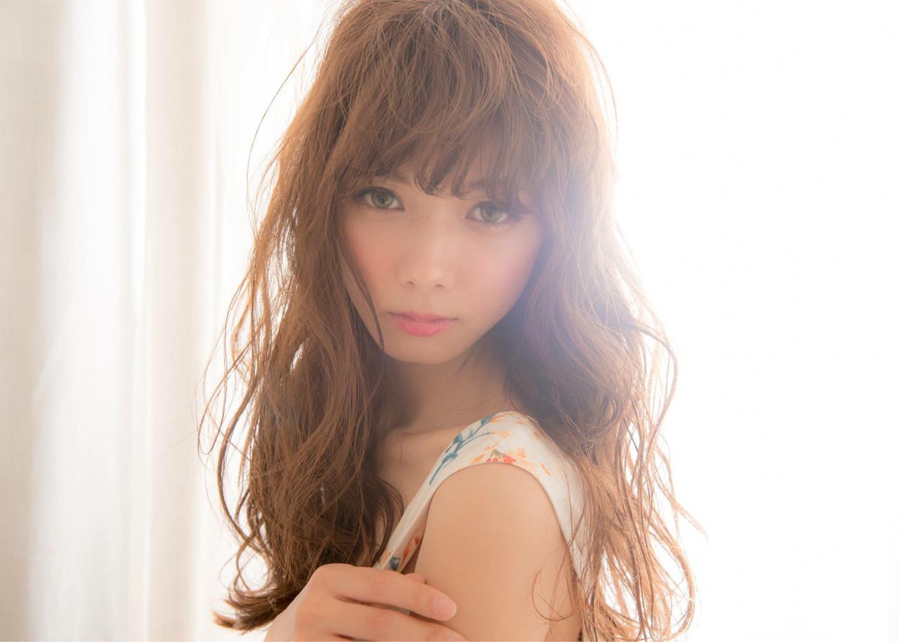 愛され ゆるふわ 外国人風 パーマ ヘアスタイルや髪型の写真・画像