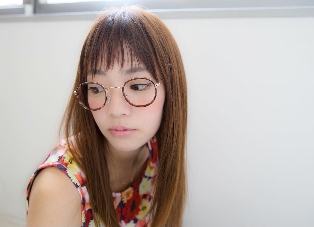 エフォートレス ショートバング 大人かわいい  ヘアスタイルや髪型の写真・画像