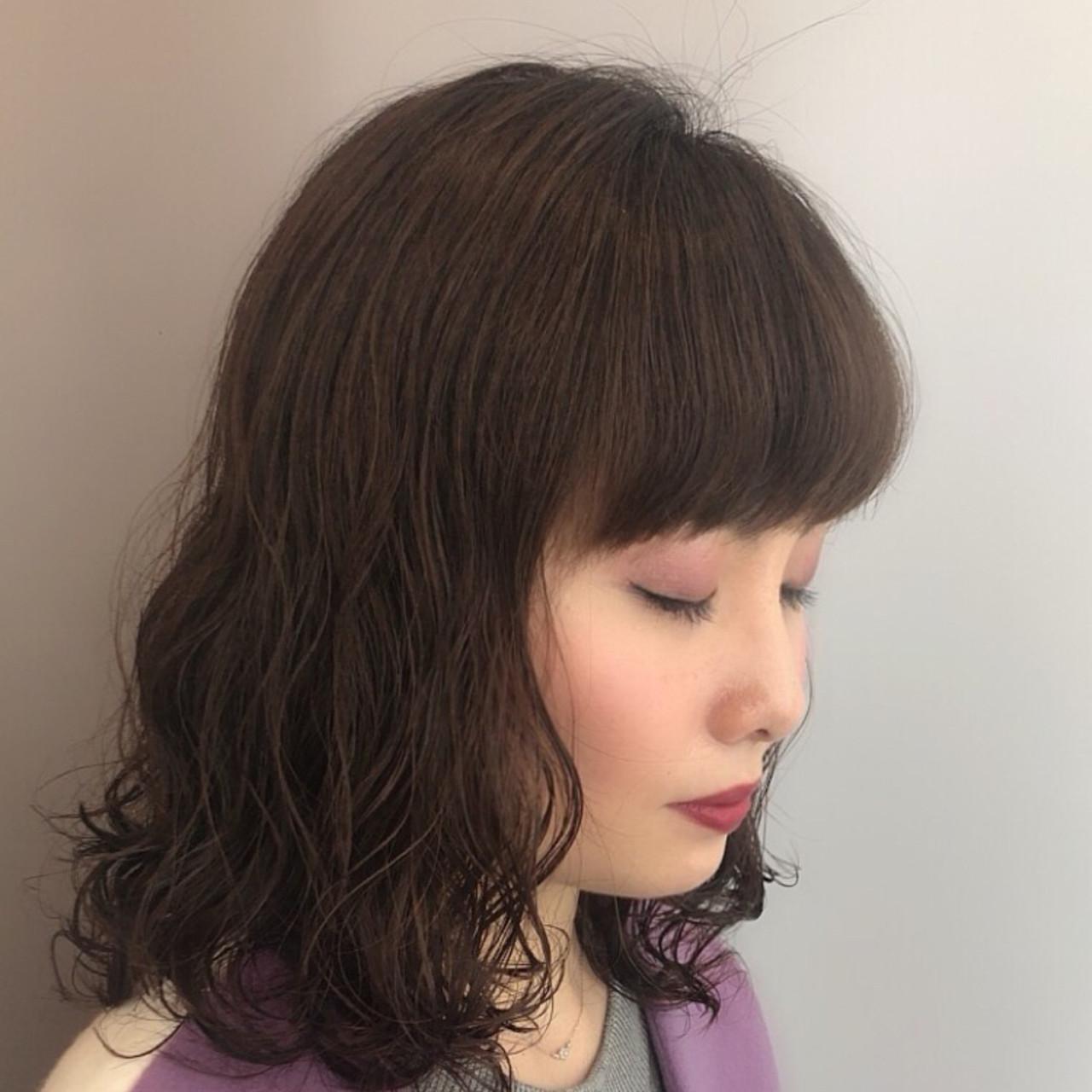 大人女子 フェミニン かわいい ナチュラル ヘアスタイルや髪型の写真・画像