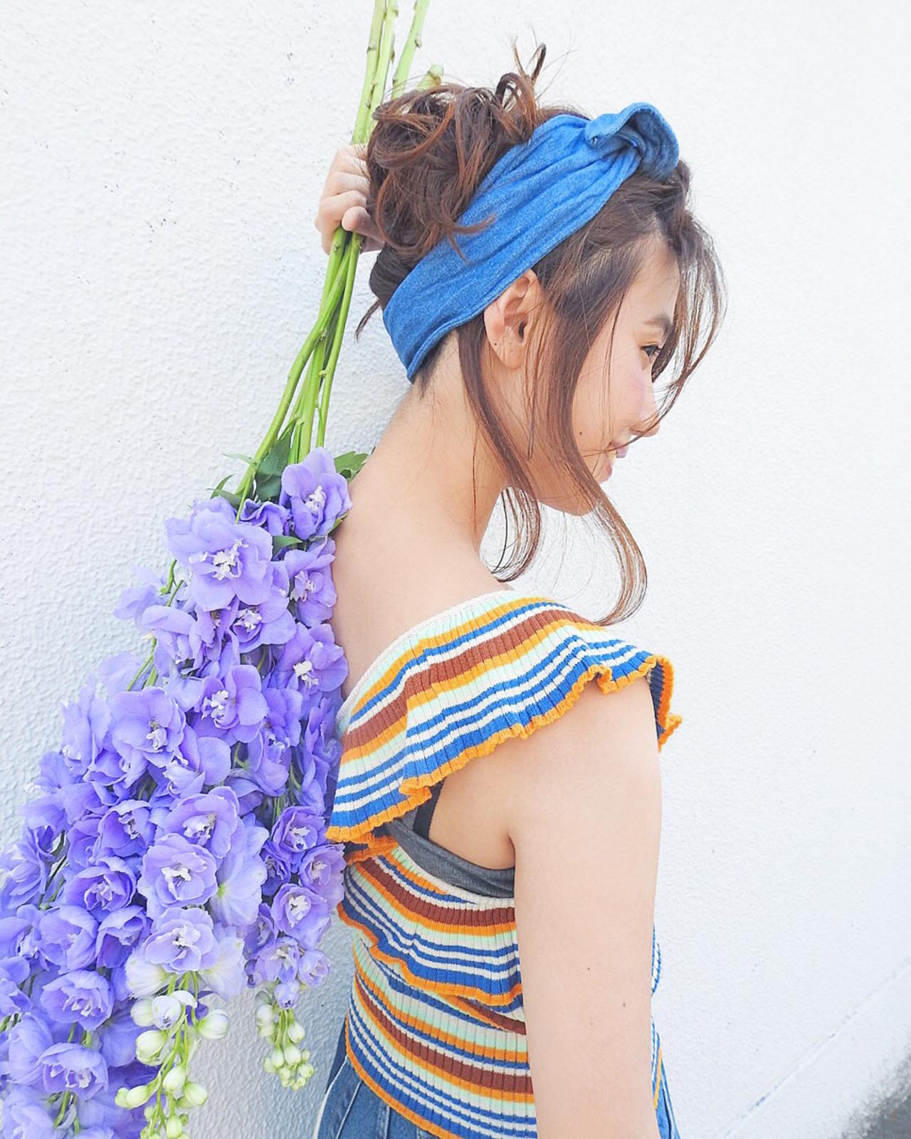 ガーリー ゆるふわ リラックス ヘアアレンジ ヘアスタイルや髪型の写真・画像 | 竹村 春香 / 自由が丘 Hair Salon pele