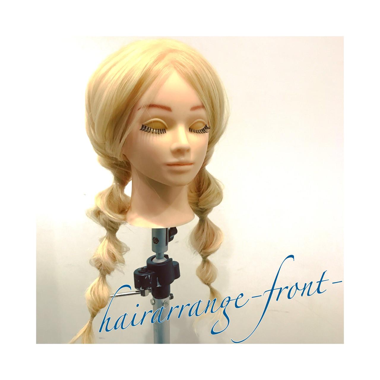ツインテール ショート ヘアアレンジ ロング ヘアスタイルや髪型の写真・画像