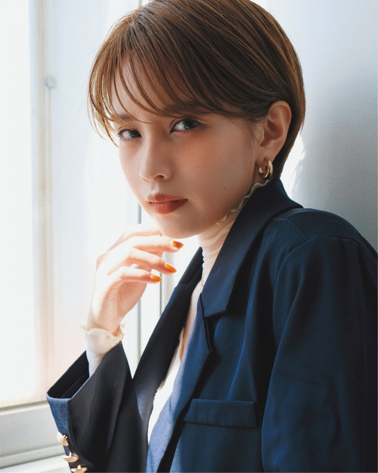 スポーツ デート オフィス ショート ヘアスタイルや髪型の写真・画像   YUJI / LIICHI / LIICHI (リイチ)
