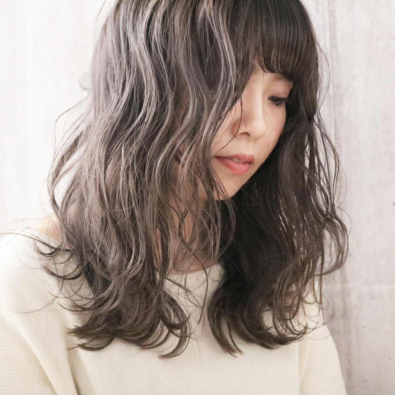 ナチュラル 透明感カラー ロング 簡単ヘアアレンジ ヘアスタイルや髪型の写真・画像