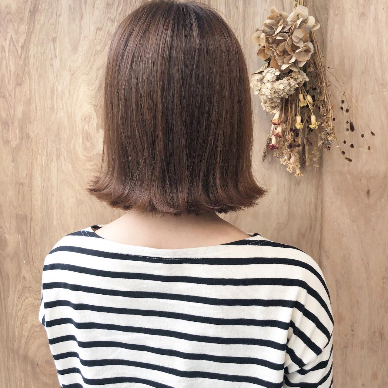 ボブ ショートボブ 外ハネボブ 切りっぱなしボブ ヘアスタイルや髪型の写真・画像