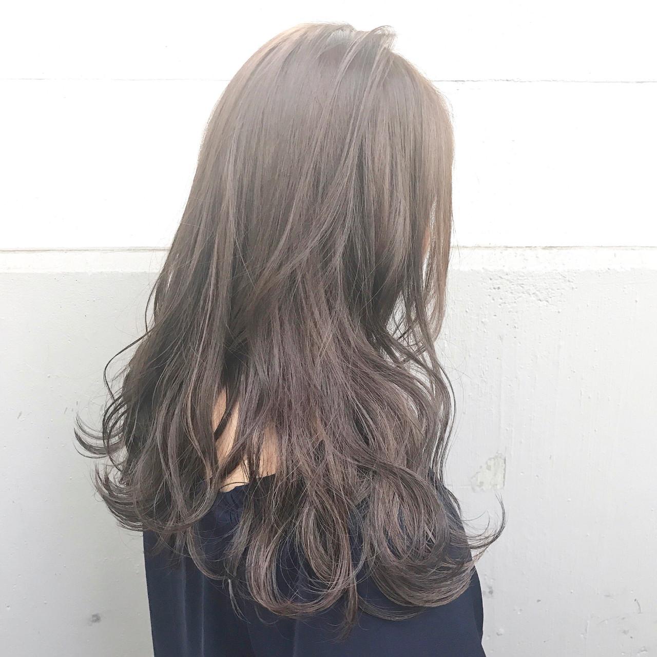ニュアンス ミルクティー ガーリー ハイライト ヘアスタイルや髪型の写真・画像   落合 健二 / hair ales
