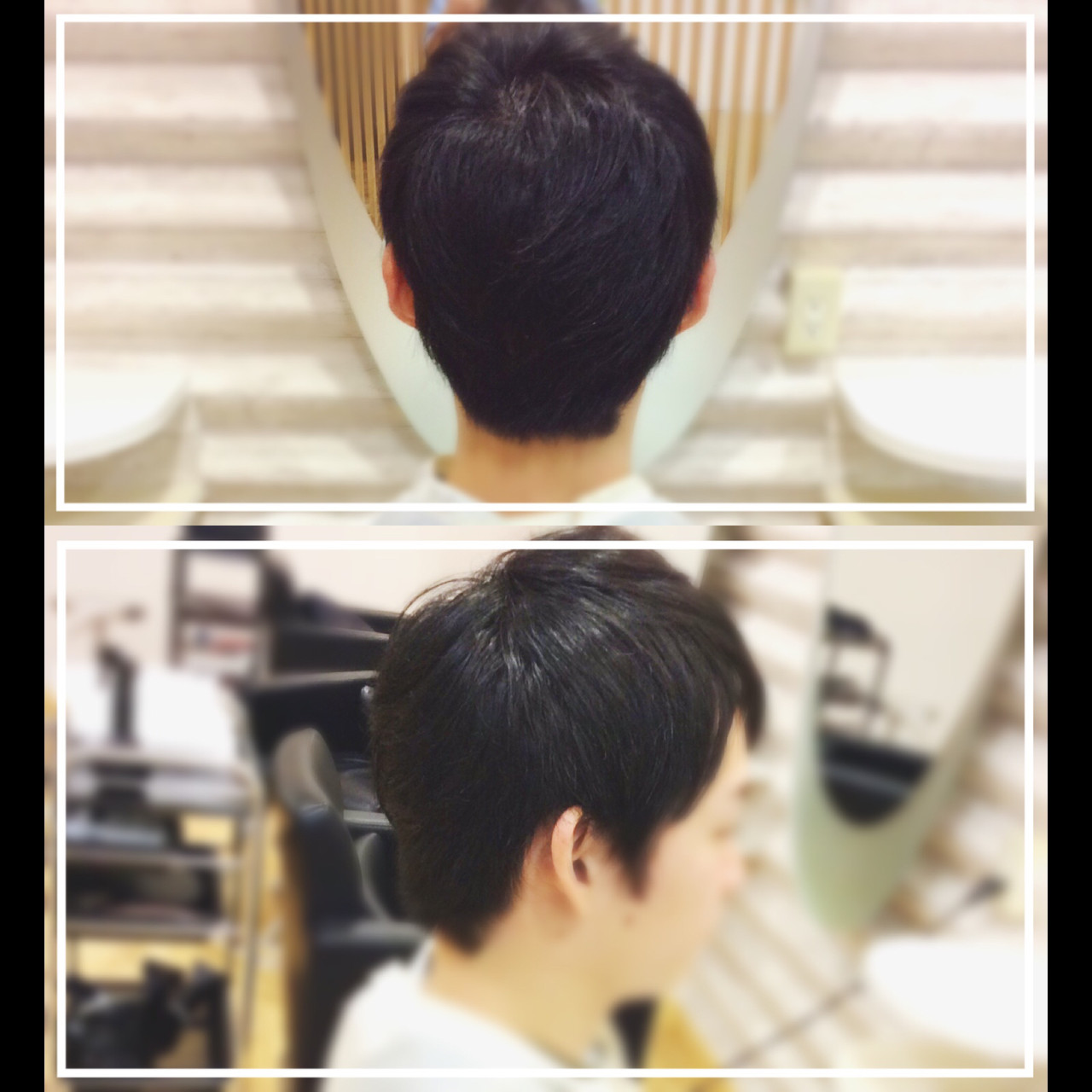 メンズヘア 社会人の味方 ナチュラル メンズショート ヘアスタイルや髪型の写真・画像