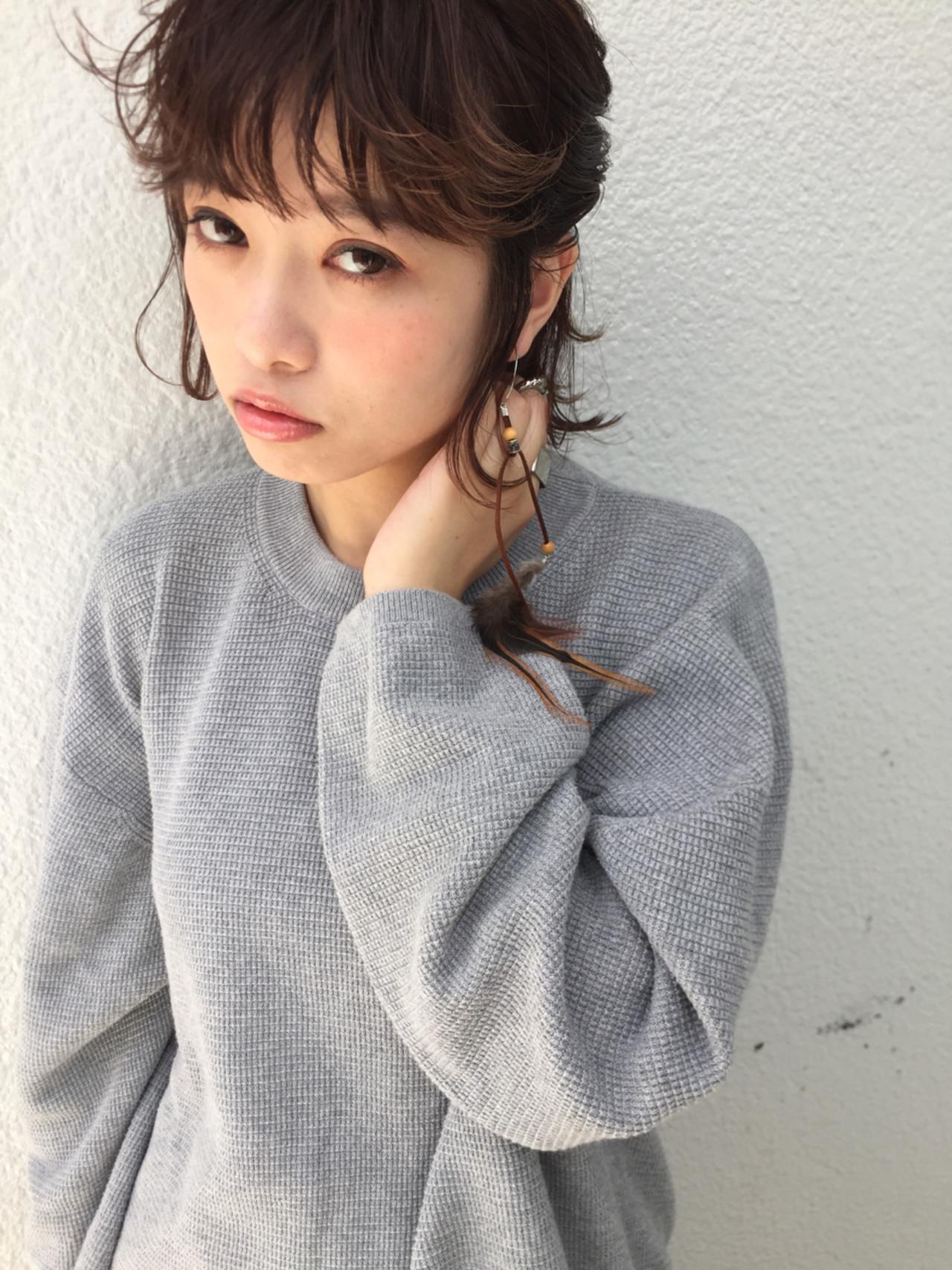 大人女子 ヘアアレンジ 簡単ヘアアレンジ ハーフアップ ヘアスタイルや髪型の写真・画像