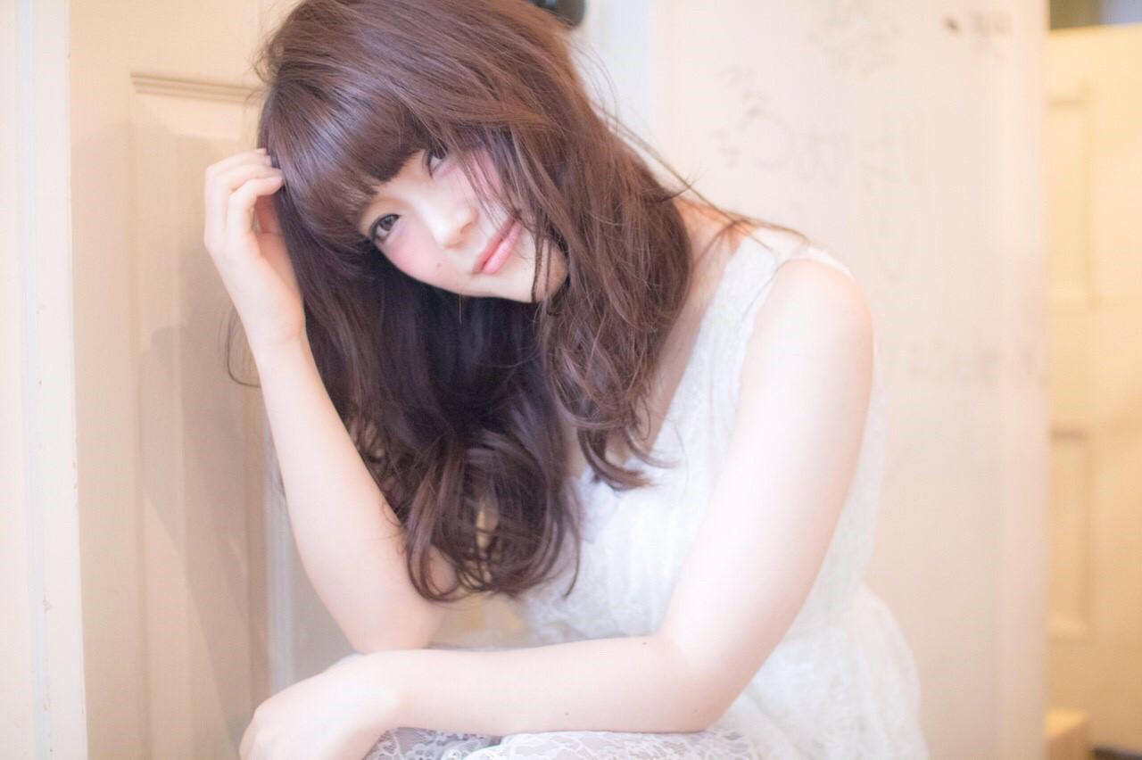 かわいい ロング ゆるふわ 愛され ヘアスタイルや髪型の写真・画像