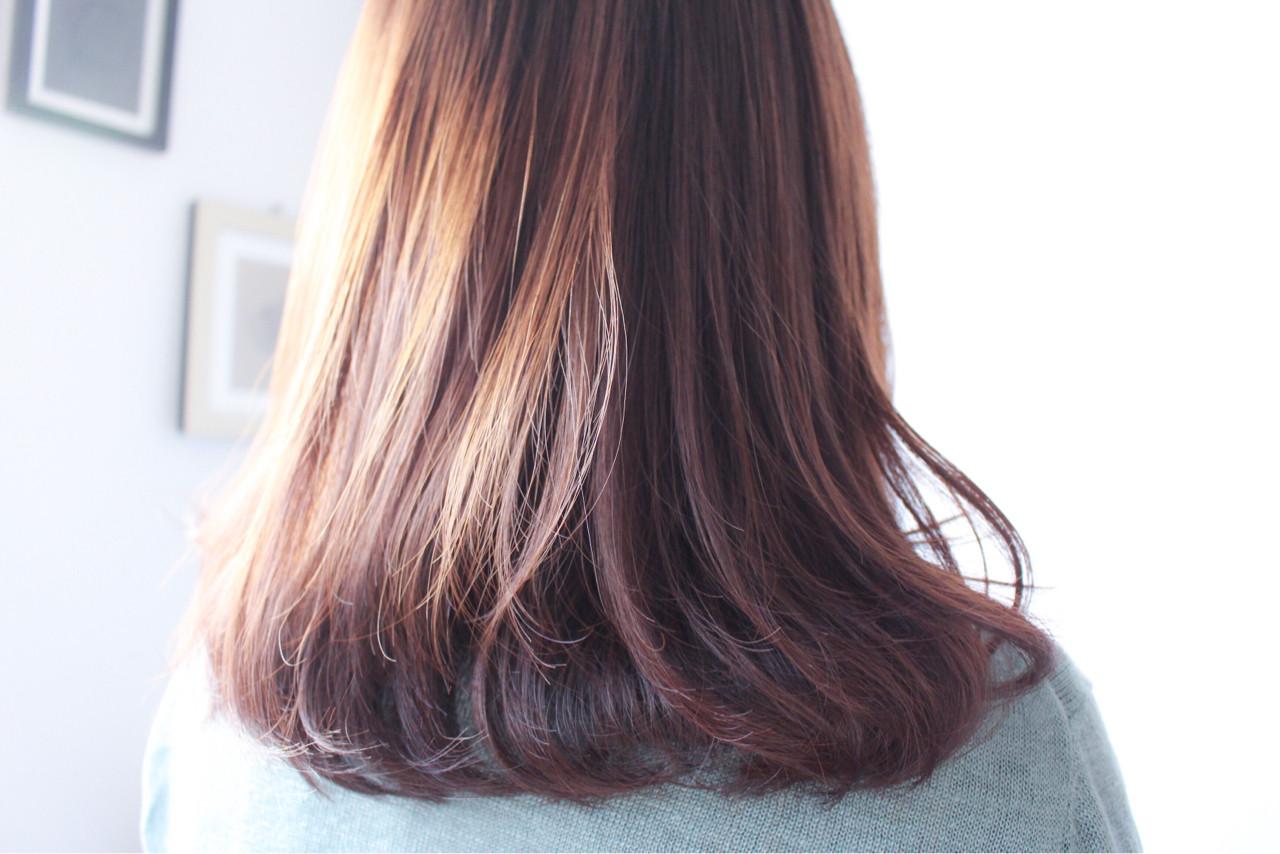 ベージュ グレージュ ラベンダーピンク ラベンダーアッシュ ヘアスタイルや髪型の写真・画像
