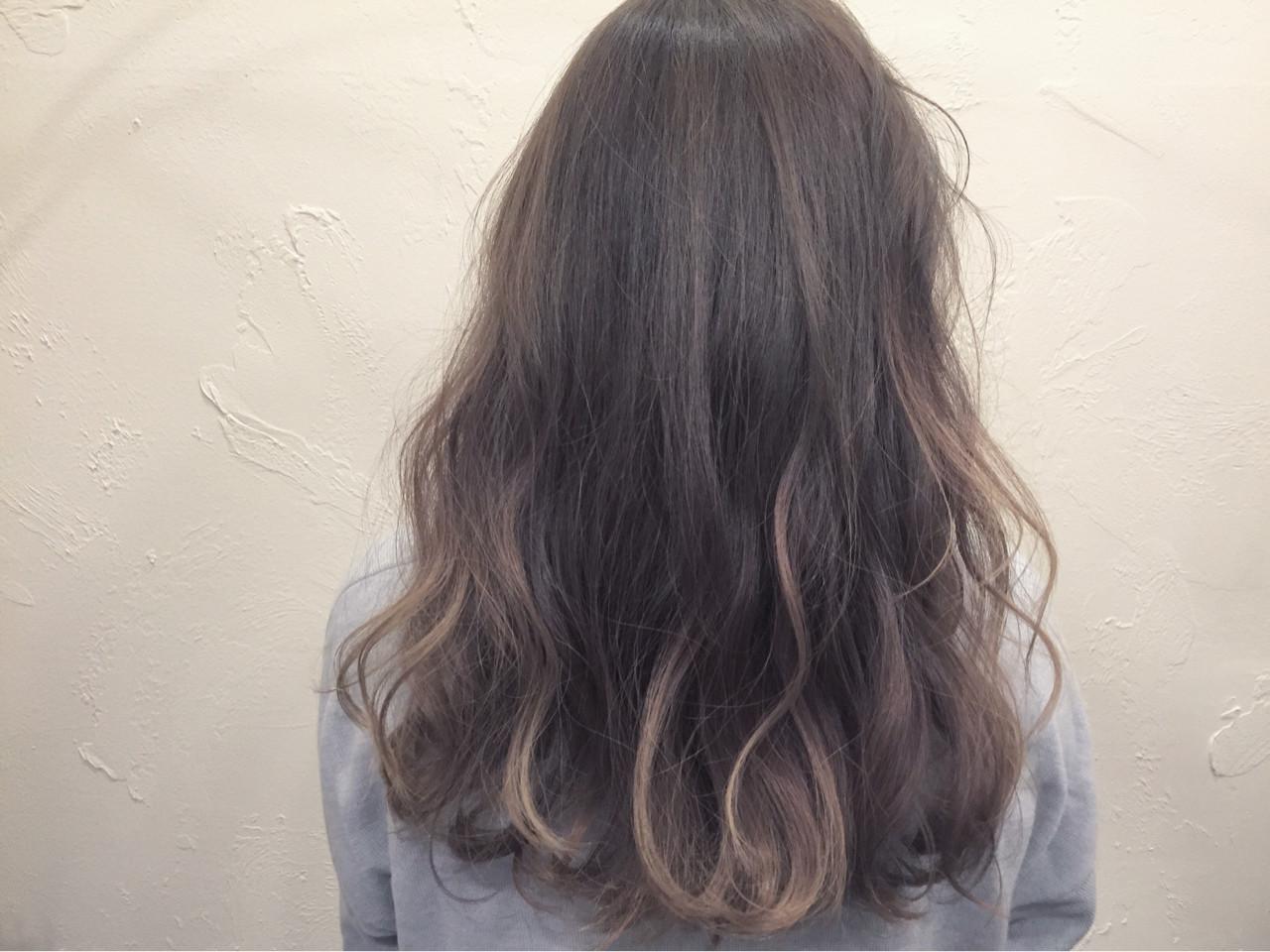 ナチュラル ハイライト グラデーションカラー 外国人風 ヘアスタイルや髪型の写真・画像   坂本圭太朗 / bado