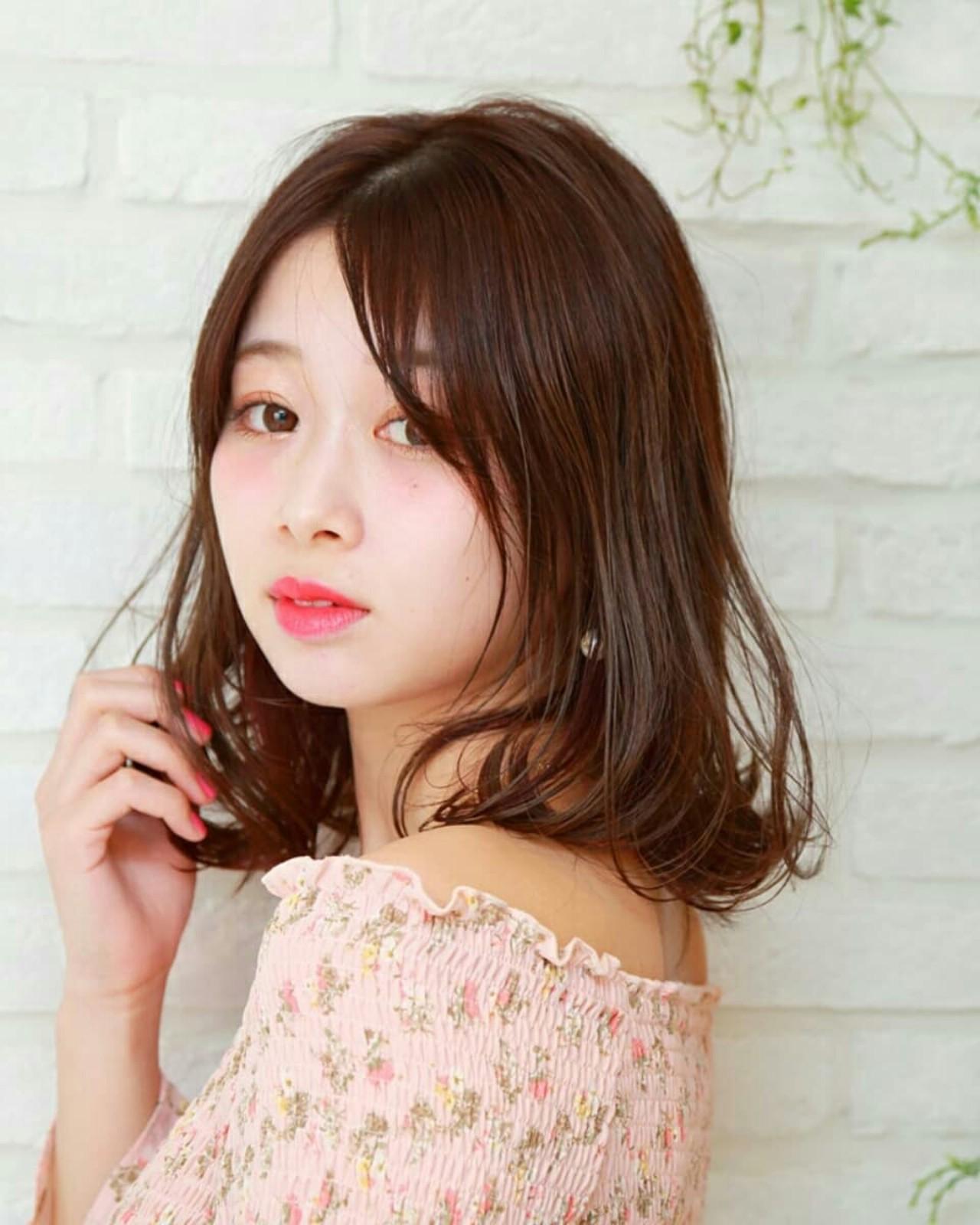 外国人風 デート 大人かわいい フェミニン ヘアスタイルや髪型の写真・画像